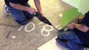 how to remove vinyl tile