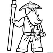 cole ninjago coloring pages Coloring4free - Coloring4Free.com