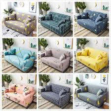 universal stretch plaid sofa covers for