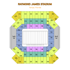 Buccaneers Stadium Seating Chart Stadium Seating Chart Tampa Bay Buccaneers Tickets