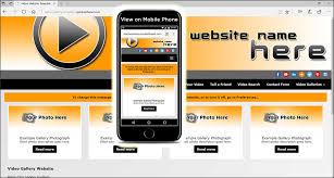website template video video website template cinema web design service
