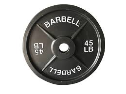 Weights Measures Chart Fake Weights 45 Lb Barbell Weight Single Plate