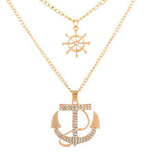 awesome anchor necklace women pendant femmi accessory gold meaning men tiffany canada white friendship