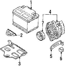 parts com® kia sephia ignition system oem parts 1998 kia sephia base l4 1 8 liter gas ignition system