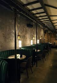 Main Dining room at Jue Lan Club in NYC. Restaurant designed by Dutch East  Design