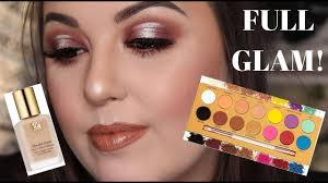happy birthday to me get full glam with me ft lunar beauty life s a drag palette