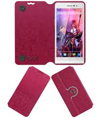 Xolo A1000s Flip Cover by ACM - Pink ...