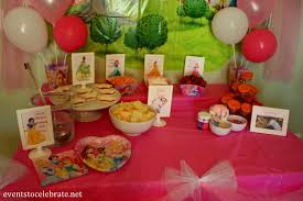 Belle Birthday Decorations Disney Princess Birthday Party Ideas Food Decorations events 37
