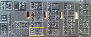 fuse box on suzuki xl7 fuse database wiring diagram images 2006 suzuki xl7 fuse box 2006 home wiring diagrams