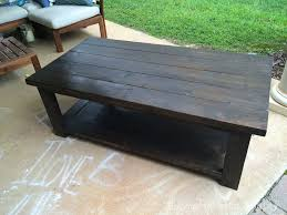 Rustic X Coffee Table