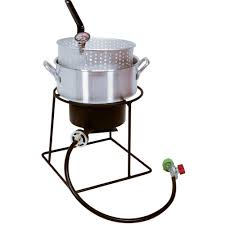king kooker 54 000 btu welded portable propane gas outdoor cooker with aluminum fry pan