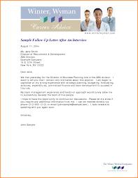 14 Follow Up Interview Letter Letterhead Template Sample