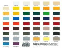 Poly Filter Color Chart Poly Fiber Poly Tone Finish Aircraft Spruce