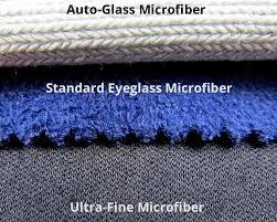 autoglass microfiber standard eyeglass microfiber and a lens cleaning ultra fine microfiber