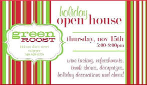 Invitation To Open House Holiday Wine Tasting Party Invitations Sweet Wishes Cocktail Best