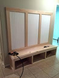 diy mudroom bench plans entryway mudroom tutorial home improvement mudroom house and room diy mudroom lockers