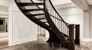 Basement Stair Designs Magnificent Spindle Stairs Railings Calgary's Best Stairbuilder