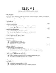 A Basic Resumes Examples Of Basic Resumes Simple Work Resume Spacesheep Co