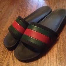 gucci flops. gucci flip flop slides (sandals) flops