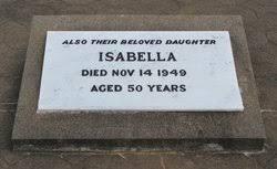 Isabella McGILL (1899-1949) - Find A Grave Memorial