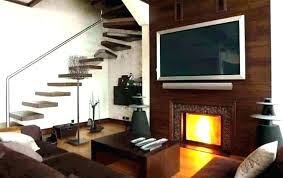 brilliant design for mounting above fireplace hiding wires mount television tv over stacked stone