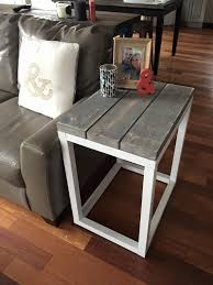 Attractive White Coffee Table And End Tables Best 25 Diy End Tables Ideas  On Pinterest Pallet End Tables