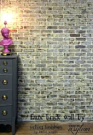 incredible brick paneling intended for best faux wall panels ideas on building a plans 0 panel