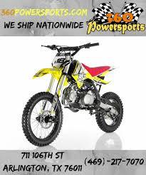 rfz racing db x18 125cc dirt bike