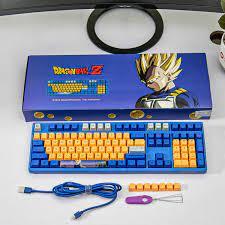 Bàn phím cơ Akko 3108 V2 Dragon Ball Z Vegeta (Akko Pink switch)
