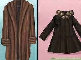 image titled choose a fur coat step 2