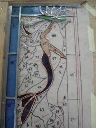 Mermaid Stained Glass Pattern Awesome Inspiration Design