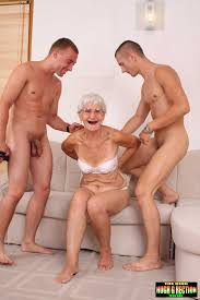 Grannies mature lads boys young