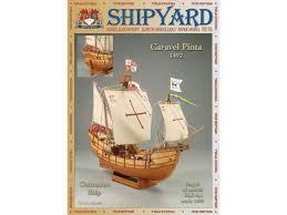 <b>Сборная картонная модель Shipyard</b> каравелла Pinta (№64), 1/96 ...