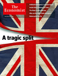 economist cover economist reveals torn union jack cover as britain votes brexit