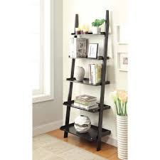 Convenience-Concepts-American-Heritage-5-Shelf-Ladder-Bookcase-