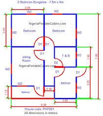 bungalow floor plans nigeria house