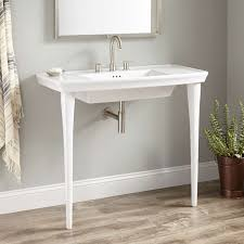 477385 olney porcelain console sink white 1h sinks bathroom sinki 13d awesome