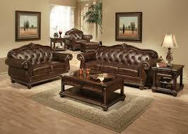 Model Living Room Design Leather Living Room Furniture Model Captivating Interior Design