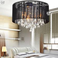 k9 crystal ceiling lights rustic bedroom lamps romantic lighting modern brief black crystal light luxury lamp cheap rustic lighting