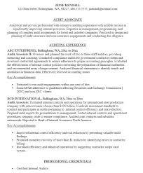 Sample Auditor Resumes 19 Free Audit Associate Resume Samples Sample Resumes