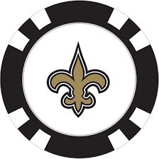 New Orleans Saints Poker Chip Ball Marker - Team Golf USA