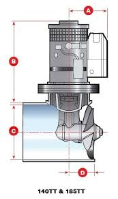 lewmar 140tt 2 2 bow thruster complete package with tube lewmar 185tt bow thruster at Lewmar Bow Thruster Wiring Diagram