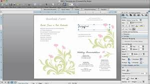How To Make Invitations With Microsoft Word How to Make Wedding Invitations in Microsoft Word YouTube 1
