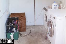 diy laundry makeover before