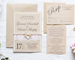 Wedding Invitatiins Wedding Invitations Etsy Uk