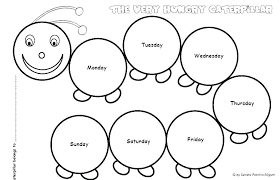 Caterpillar Color Pages Printable Caterpillar Coloring Pages For