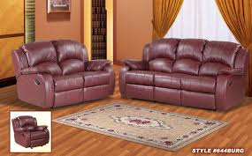 Tan Leather Living Room Set Leather Reclining Living Room Set