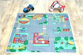 train track rug racing car awesome children s highway roads kids large indoor outdoor