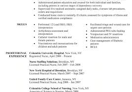 Sample Nursing Resume Resume Writing A Nursing Resume Marvelous Sample Nursing Resume 65