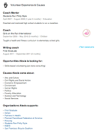 Importance Of A Resume What To Put For Volunteer Experience On A